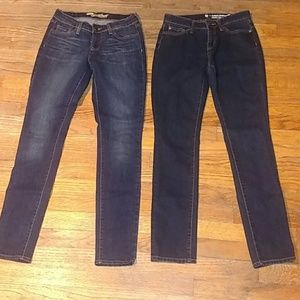 2 for $12 Skinny Jeans euc